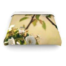 """""""Pear Blossom"""" Woven Comforter Duvet Cover"""
