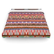 """Native Tessellation"" Woven Comforter Duvet Cover"