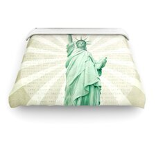 """""""The Lady"""" Statue of Liberty Woven Comforter Duvet Cover"""