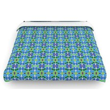 """Sea Glass"" Woven Comforter Duvet Cover"