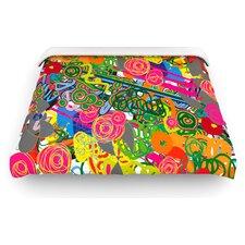 """""""Psychedelic Garden"""" Woven Comforter Duvet Cover"""