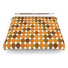 """Noblefur Orange Harvest"" Woven Comforter Duvet Cover"