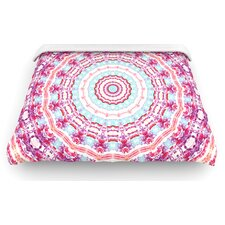 """Happy"" Circle Woven Comforter Duvet Cover"
