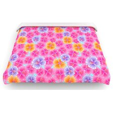 """My Pink Garden"" Woven Comforter Duvet Cover"