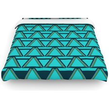 """Deco Angles"" Woven Comforter Duvet Cover"