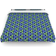 """Infinite Flowers Blue"" Bedding Collection"