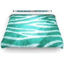 """""""Zebra Texture"""" Woven Comforter Duvet Cover"""