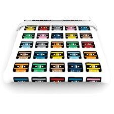 Blue Tapes Duvet Cover