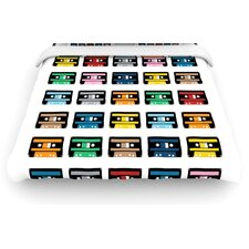Rainbow Tapes Duvet Cover