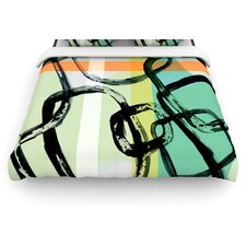 Sixties Stripe Duvet Cover