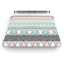 Chevron Motif by Vasare Nar Woven Duvet Cover