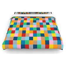 Colour Blocks Zoom Duvet Cover