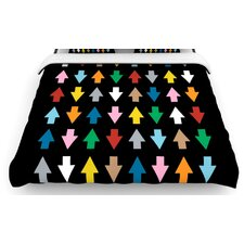 Arrows Up And Down Duvet Cover