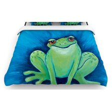 Ribbit Ribbit Duvet Cover