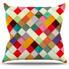 Pass This On by Danny Ivan Throw Pillow