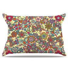 My Butterflies and Flowers Fleece Pillow Case