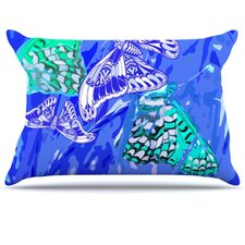 Butterflies Party Fleece Pillow Case