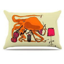 Playful Octopus Pillowcase