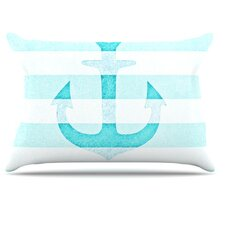 Stone Vintage Anchor Pillowcase