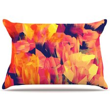 Geo Flower Pillowcase