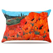 Poppies Pillowcase