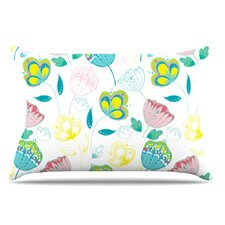 Indie Floral Pillowcase
