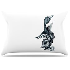 Swan Horns Pillowcase