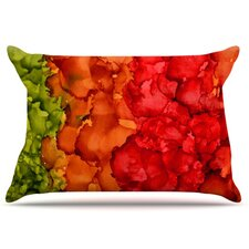 Fall Splatter Pillowcase