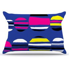 Retro Circles Pillowcase