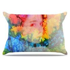 Rainbow Splatter Pillowcase