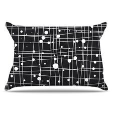 Woven Web Mono Pillowcase