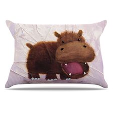 The Happy Hippo Pillowcase