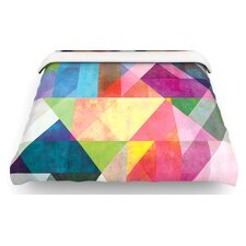 Color Blocking Abstract Cotton Duvet Cover