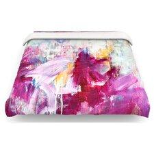 Magenta Paint Cotton Duvet Cover