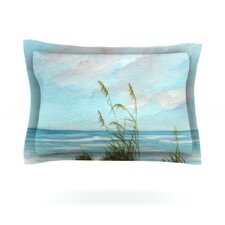 Sea Oats by Rosie Brown Woven Pillow Sham