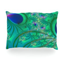 Fractal Outdoor Throw Pillow