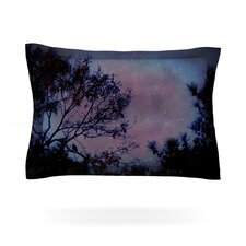 Twilight Tree Cotton Pillow Sham
