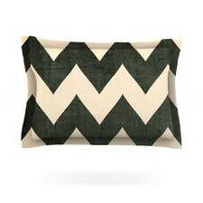 Vintage Vinyl by Catherine McDonald Woven Pillow Sham