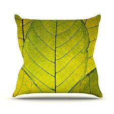 Every Leaf a Flower Outdoor Throw Pillow