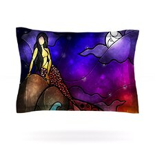 Fairy Tale Mermaid Cotton Pillow Sham