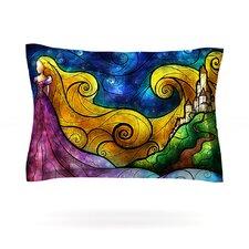 Starry Lights by Mandie Manzano Woven Pillow Sham