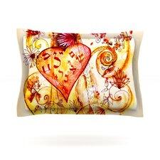 Tree of Love Cotton Pillow Sham
