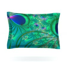 Fractal Cotton Pillow Sham