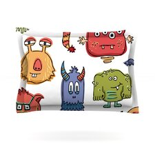 Little Monsters Cotton Pillow Sham