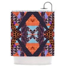 Pillow Kaleidoscopic Polyester Shower Curtain