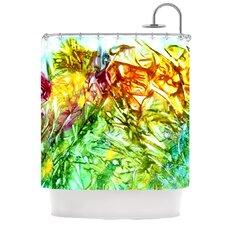 Kaleidoscope Polyester Shower Curtain