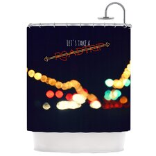Road Trip Polyester Shower Curtain