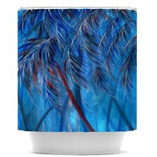 Tropical Polyester Shower Curtain