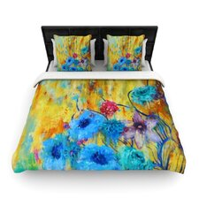 Cosmic Love Garden Duvet Cover