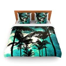 Palm Trees and Stars Duvet